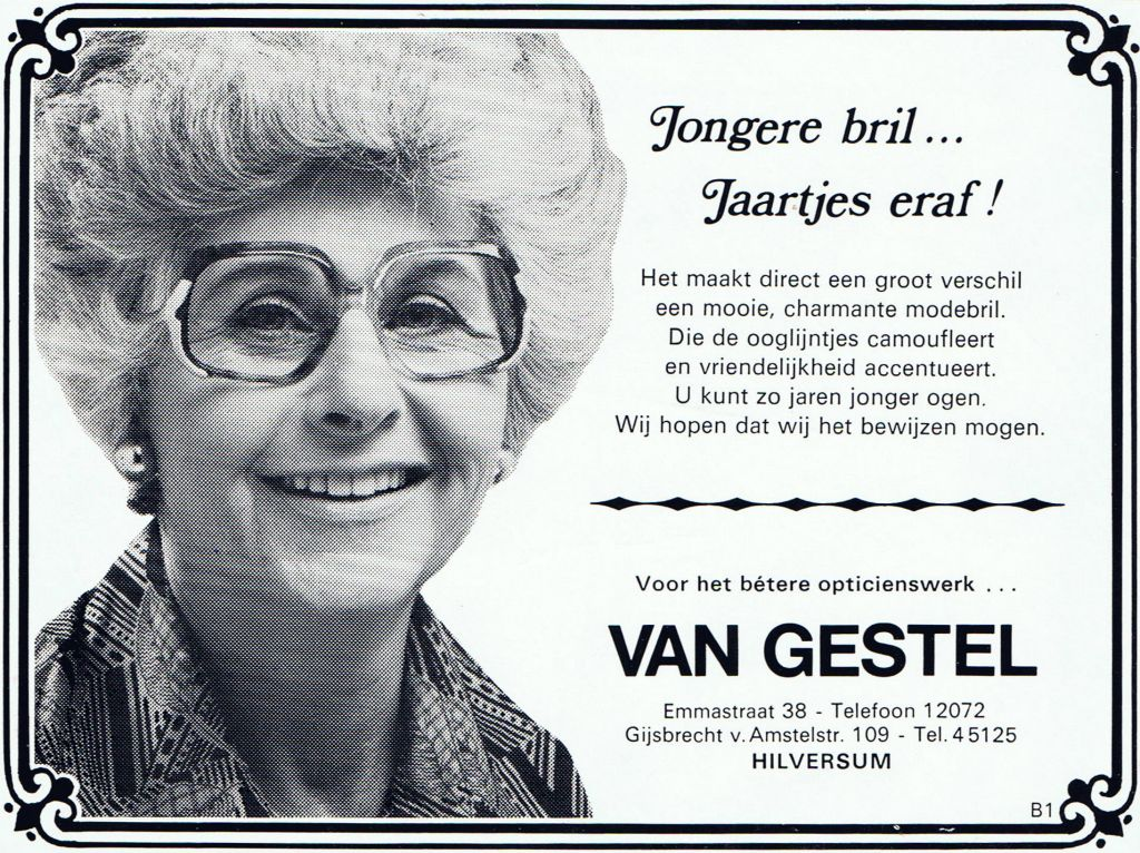 1976 Adv Jongere Bril