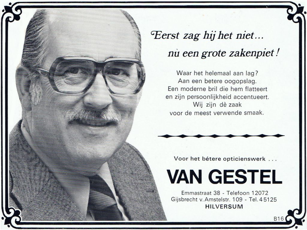 1976 Adv Zakenpiet