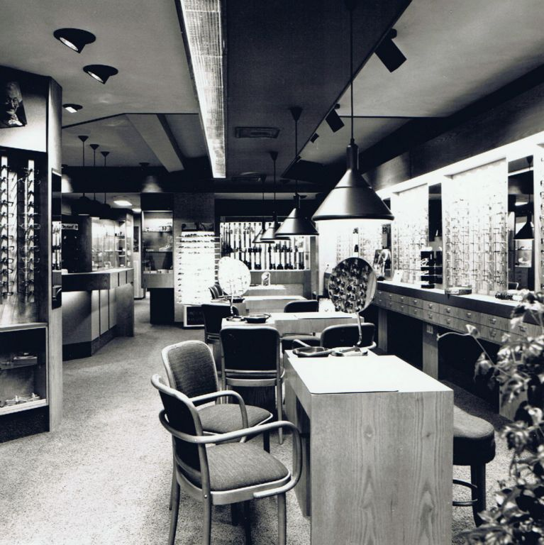 1981 interieur brillen