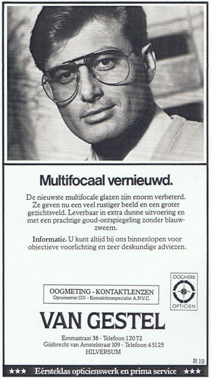 1985 Adv. Multifocaal vernieuwd Man