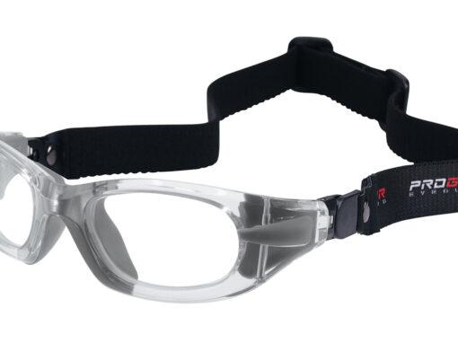 Progear eyeguard | Transparent met band