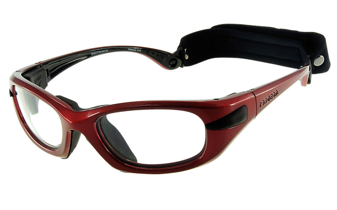 Progear eyeguard | metallic rood
